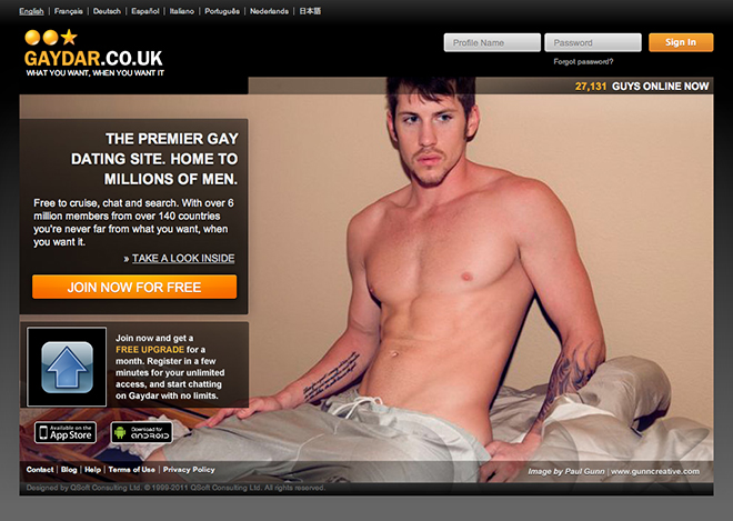 Gaydar Co Uk What You Want
